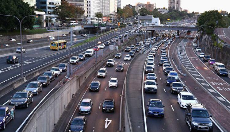 新州,道路,车流,交通