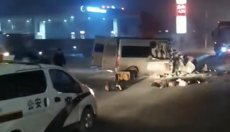 河南汤阴县发生车祸6死6伤