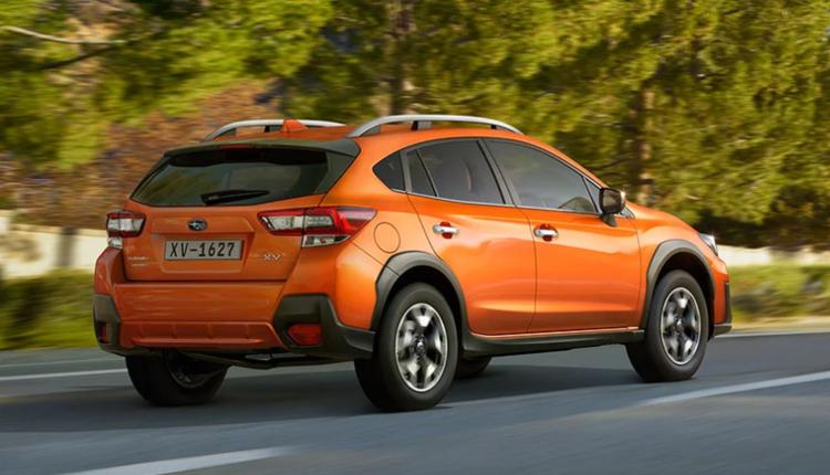 2020年年底正式登场的第三代小改款Subaru XV。