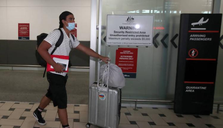 布里斯本机场、昆州疫情、澳洲疫情