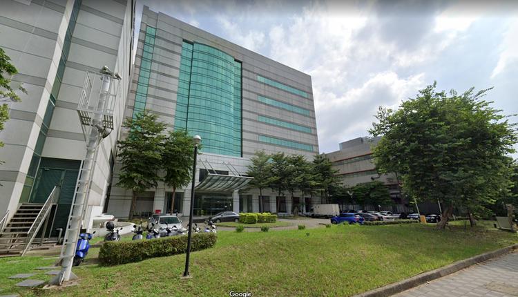 图为金丽科在竹科办公大楼。 (图撷取自Google map)