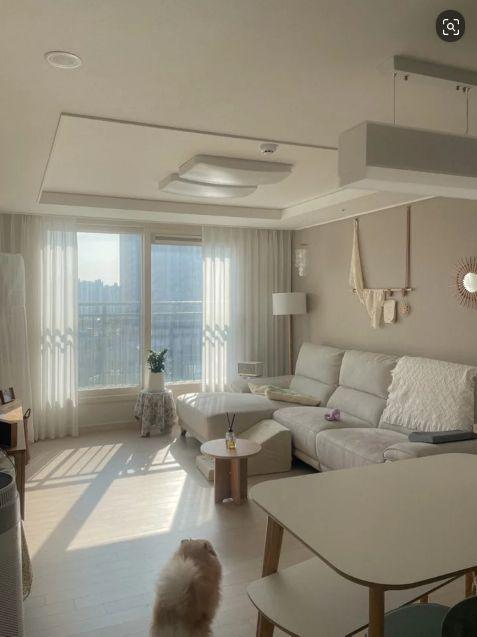 韩国夫妇卧室分床睡 混搭风新房简约温馨