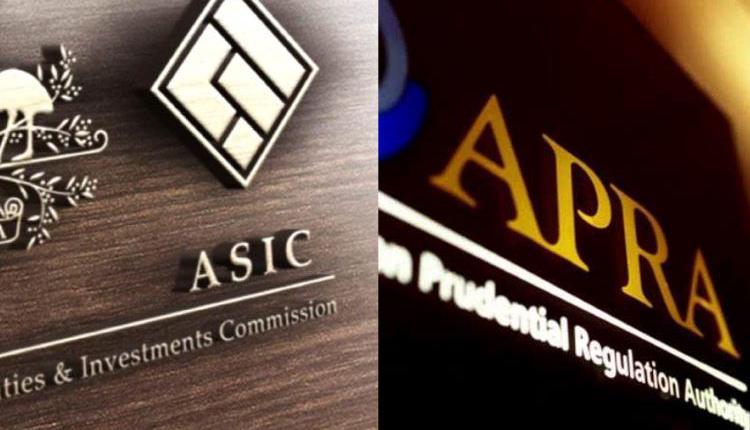 ASIC,APRA,澳洲审慎监管局