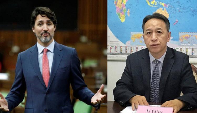 中国外交官公开羞辱加拿大总理特鲁多