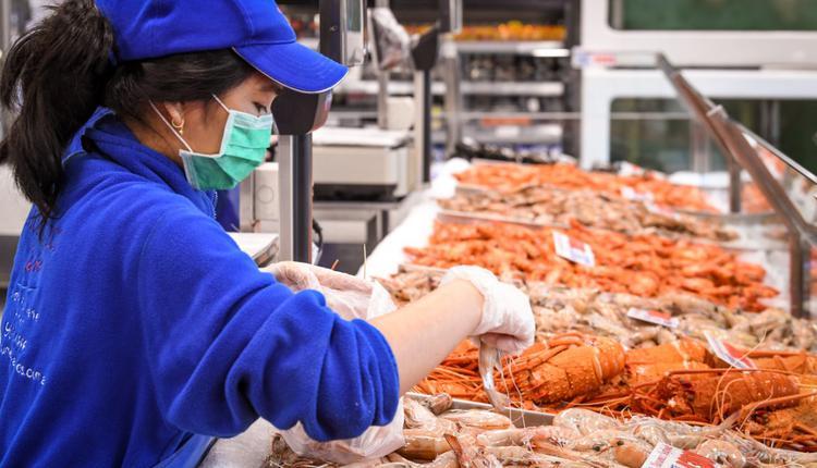 悉尼鱼市场,海鲜