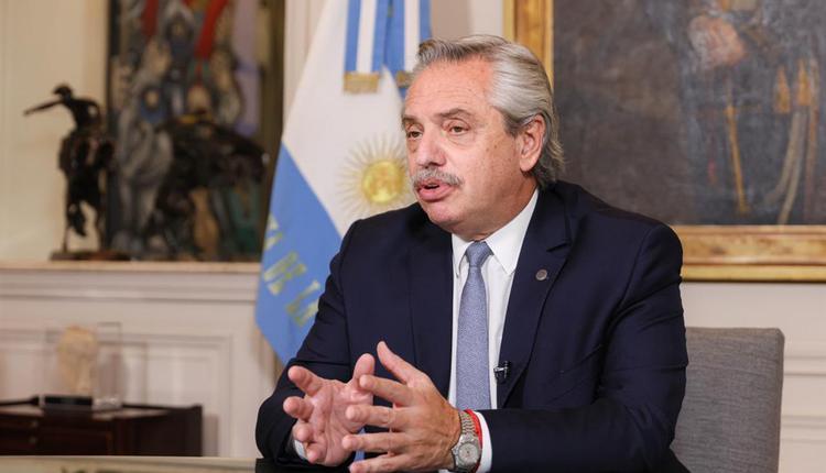 阿根廷总统艾柏托.费南德兹