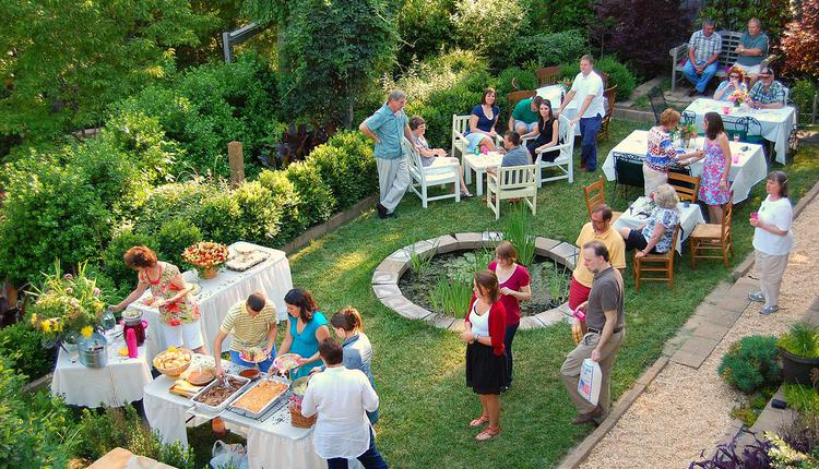 英国, 解封, 花园聚会