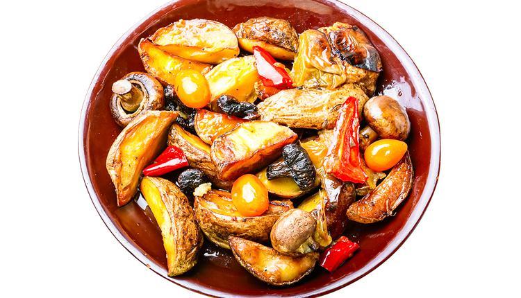 烤番茄土豆