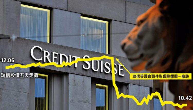 瑞信,Credit Suisse,瑞士信贷集团,投资银行