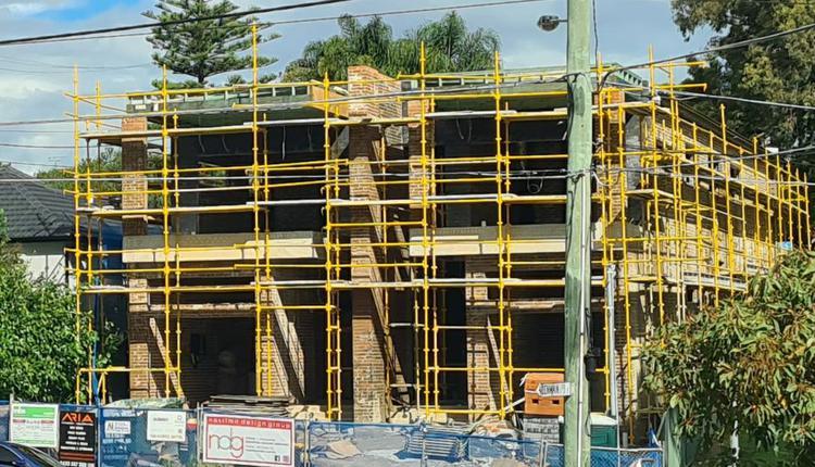 建筑工地 homebuilder 建房