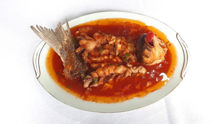 松鼠鱼 美食 食物