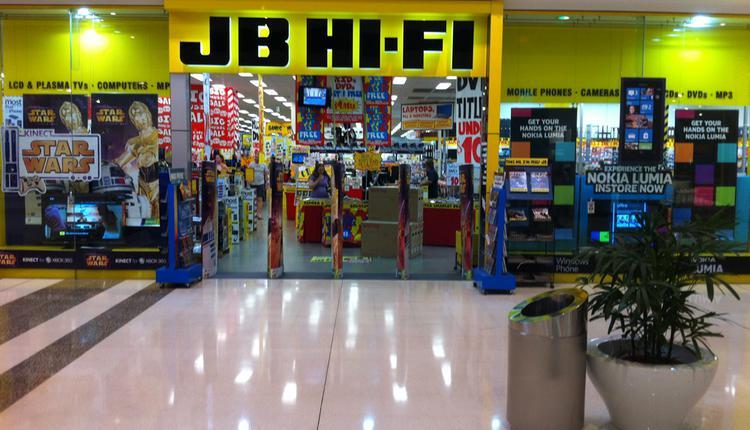 JB-Hifi商店