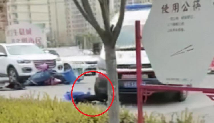 外送員被撞後 慘遭120救護車二次碾壓