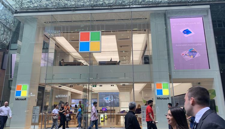 Microsoft 微软 购物 商场 科技