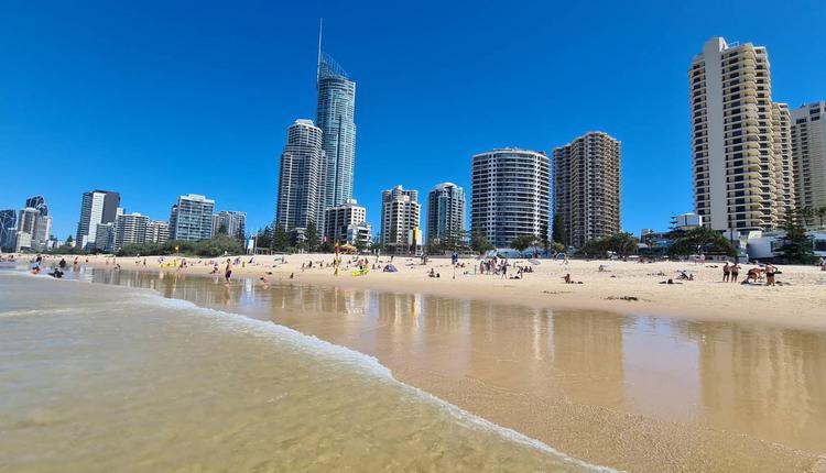 黄金海岸 冲浪者天堂 昆州 Gold Coast Surfer's Paradise 海滩