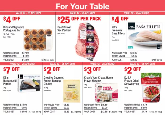 澳洲Costco最新优惠目录来袭 虾饺等美食在列