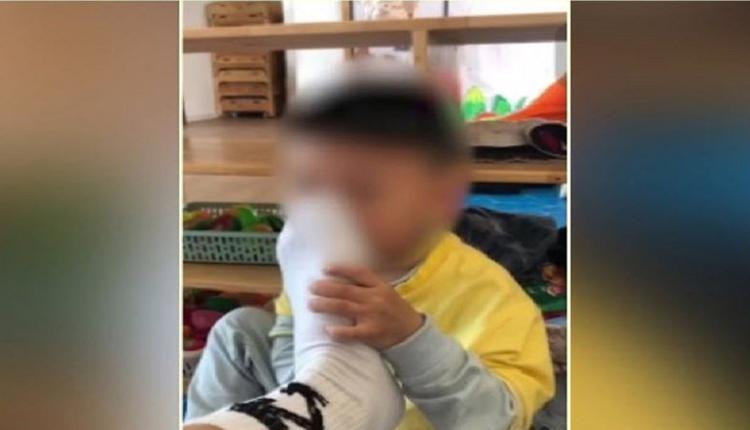 幼儿园男教师让男童闻脚照片疯传 引网民挞伐