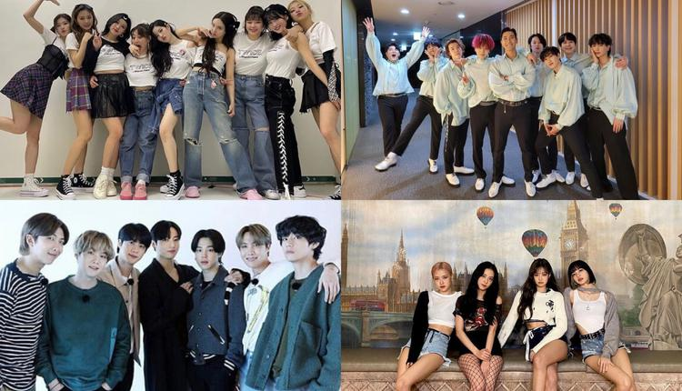 TWICE/BTS/SJ/BLACKPINK