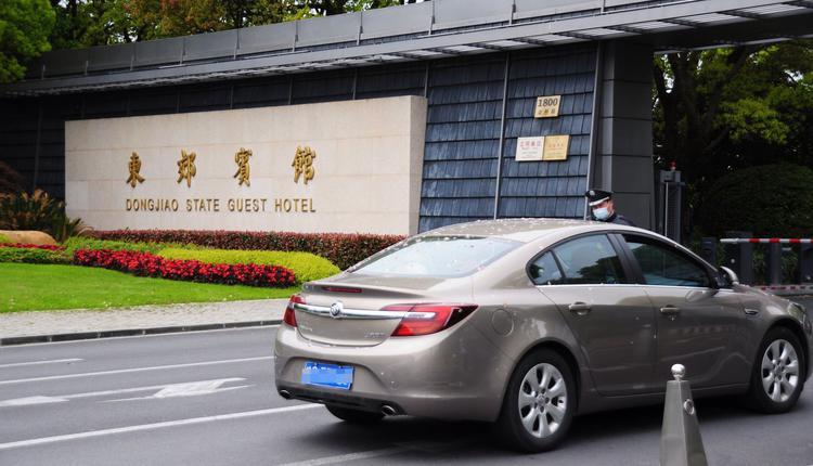 造访上海的美国气候变迁特使克里