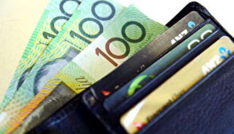 澳元,钱,信用卡,养老金