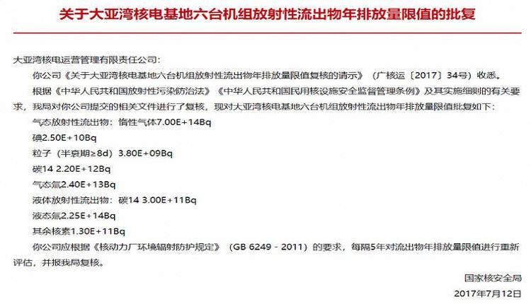 港媒:中国核电站废水中的放射物是日本的10倍