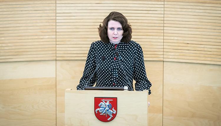 立陶宛国会议员萨卡利埃内