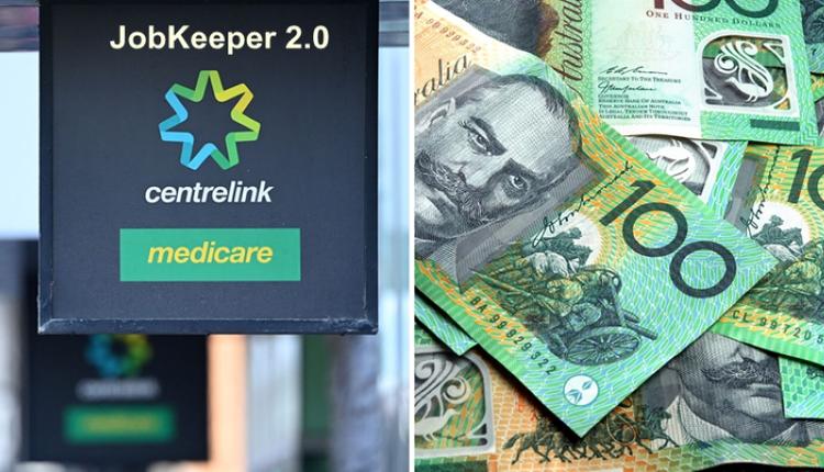 JobKeeper,Centrelink,福利,澳元