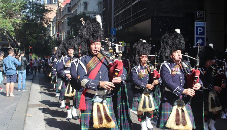 ANZAC Day 军人节 悉尼 游行