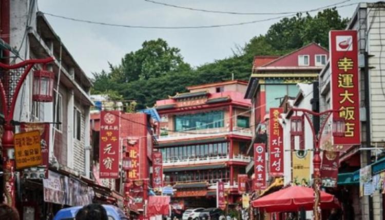 仁川中国城景貌。韩国观光公社图片