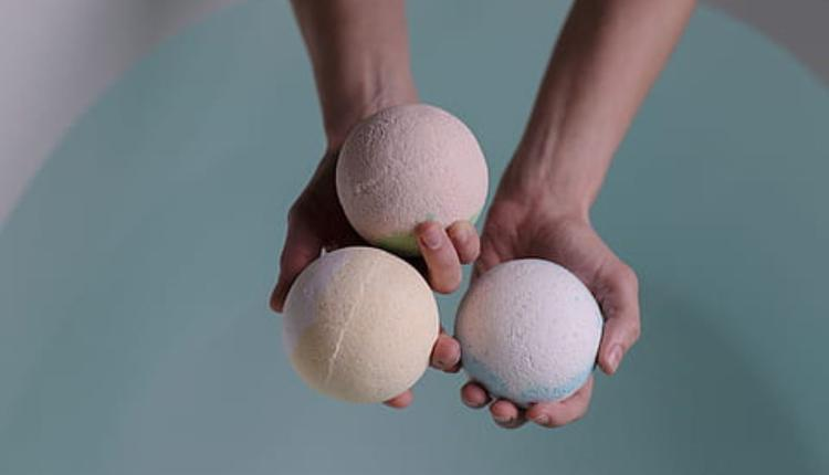 浴球示意图(图片来源:Piqsels)
