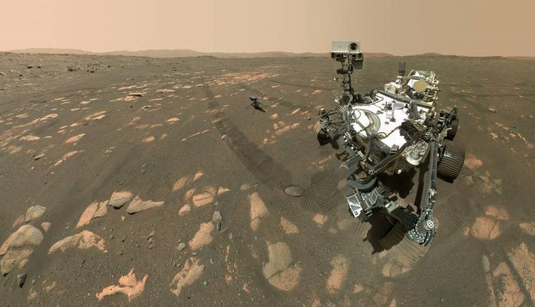 """""""毅力号""""成功将火星大气的二氧化碳转化成氧"""