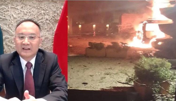 巴基斯坦酒店被炸4死 官员:袭击目标是中国大使