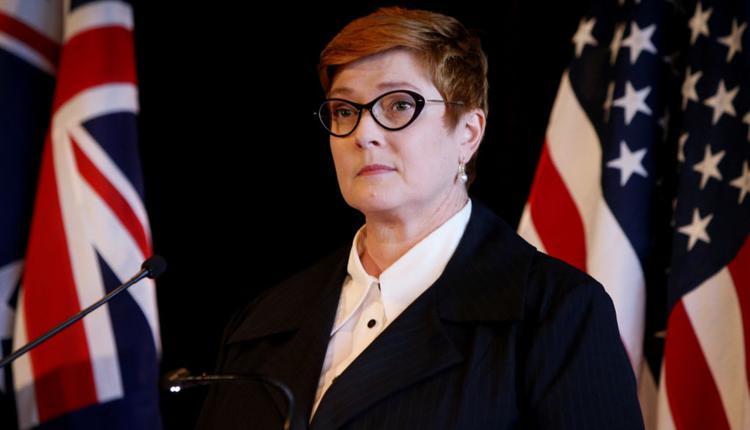 澳洲外交部长Marise Payne