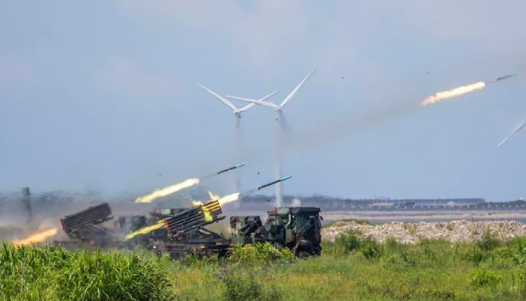 台湾军方汉光37号演习兵棋推演,模拟解放军今年攻打台湾。