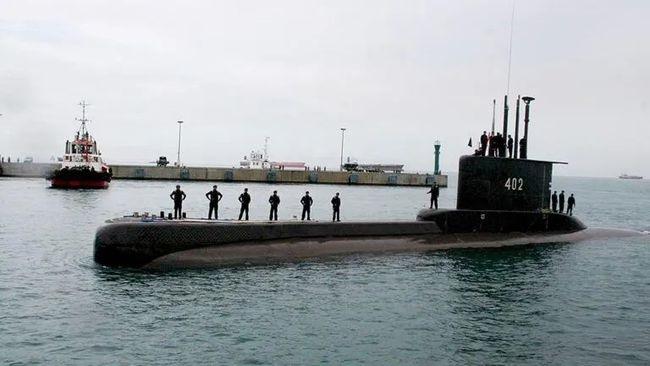 """""""南伽拉-402号""""潜艇"""