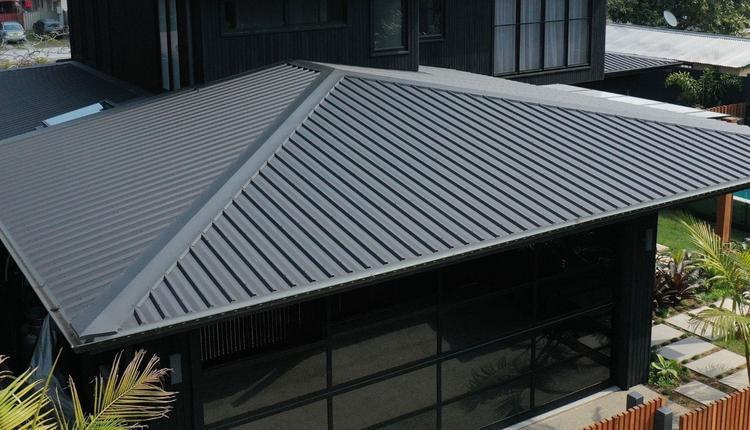 彩钢波纹屋顶示意图 供图