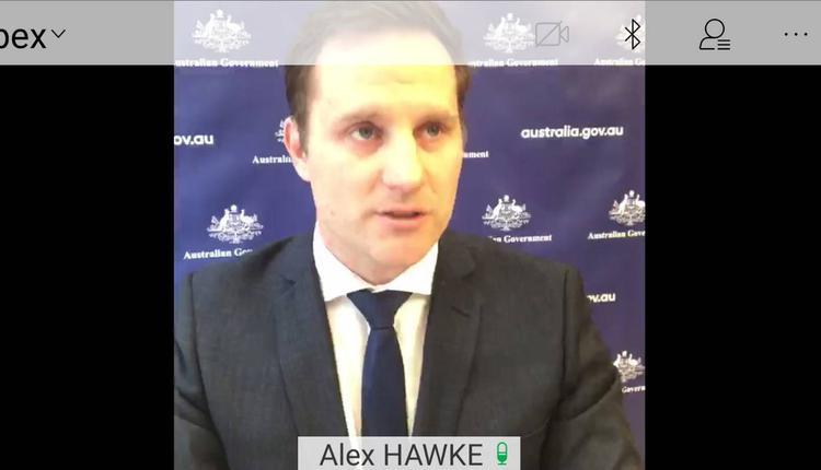移民和多元文化事务部长Alex Hawke