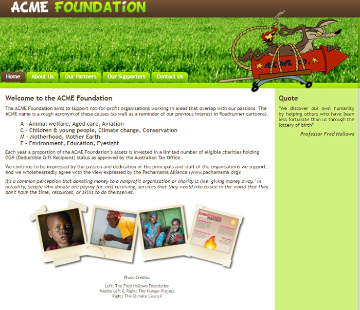 ACME私人慈善基金会