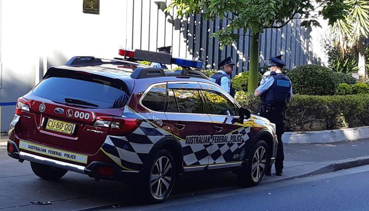 悉尼警车 警察 澳洲联邦警察
