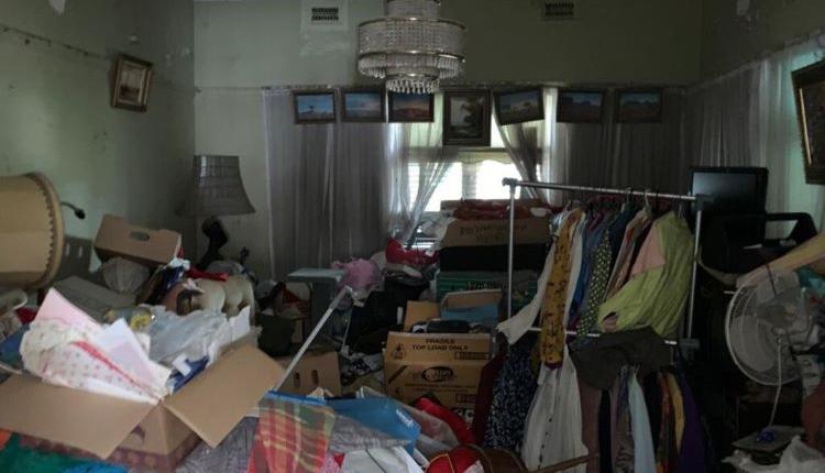 垃圾囤积,堆满垃圾的房子,hoarder