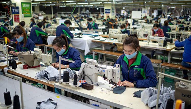 亚洲经济,中国制造,制造工厂,血汗工厂
