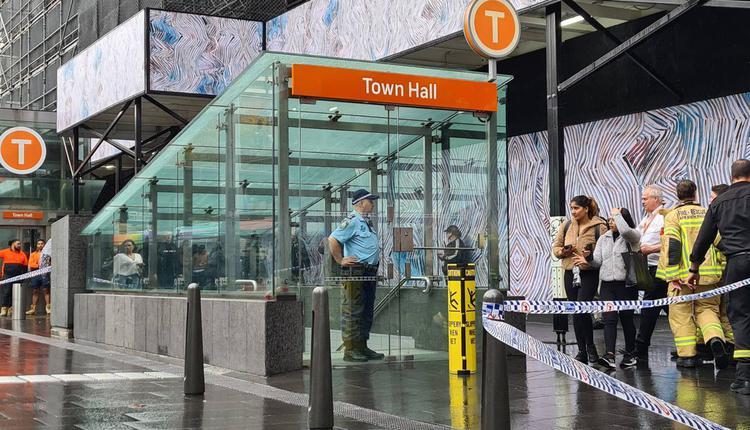 town hall火车站 05/5/2021(图片来源:看传媒)
