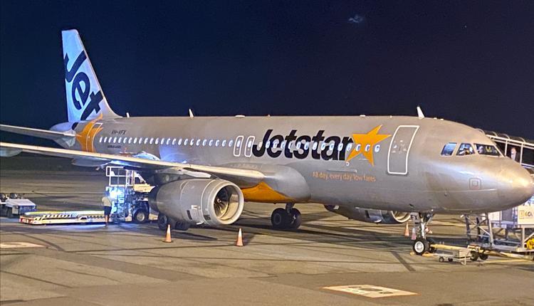 Jetstar 飞机 旅游 机场 飞机场