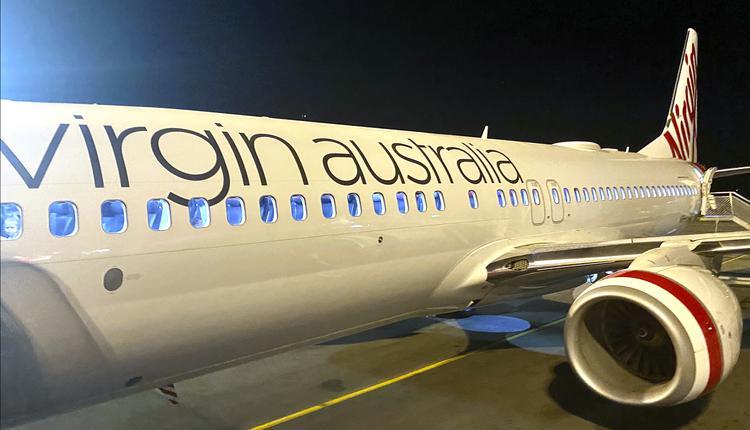 Virgin Australia 维珍 飞机 旅游 机场 飞机场