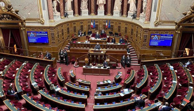 """法国参议院6日晚间全数一致通过""""台湾参与国际组织工作""""决议案"""