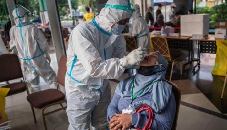 鼻拭子,印尼疫情,病毒检测