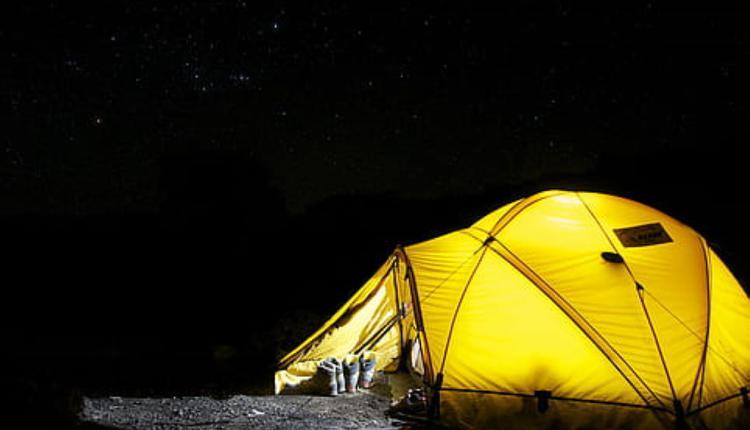 帐篷示意图 图片来源:Piqsels