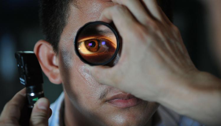 眼睛,眼疾,检测眼睛