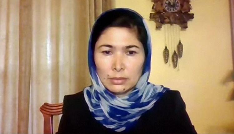 维吾尔集中营幸存者图尔孙娜伊.孜娅吾丁