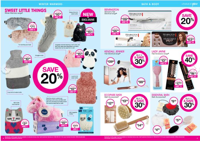 澳洲药妆店Priceline 5月6日至5月20日特价商品清单
